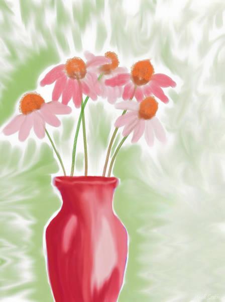 Coneflower Painting - Coneflower Still Life by Heidi Smith
