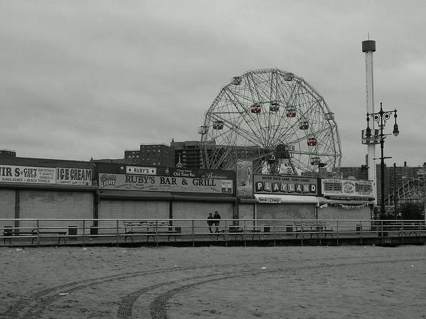 Wall Art - Photograph - Coney Island by Abraham Adams Photography