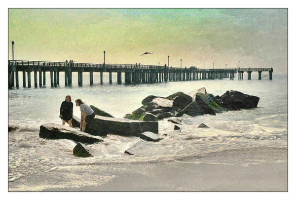 Photograph - Coney Island Pier And Jetty by Frank Winters