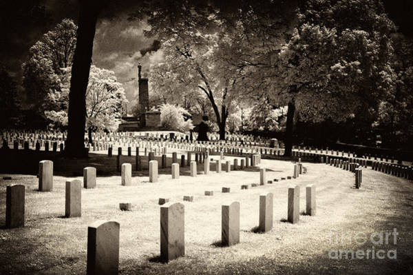 Wall Art - Photograph - Confederate Row At The Old Grey by Paul W Faust -  Impressions of Light