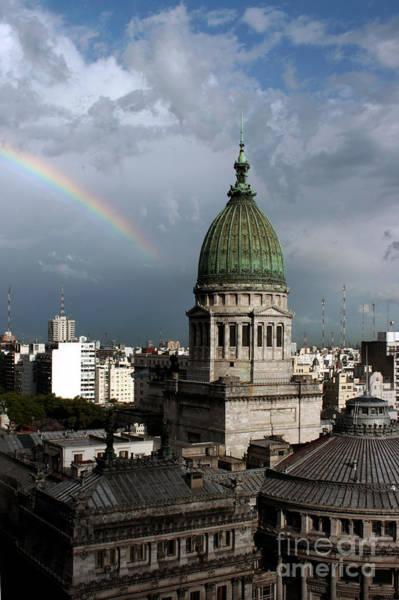 Photograph - Congresso Rainbow by Balanced Art