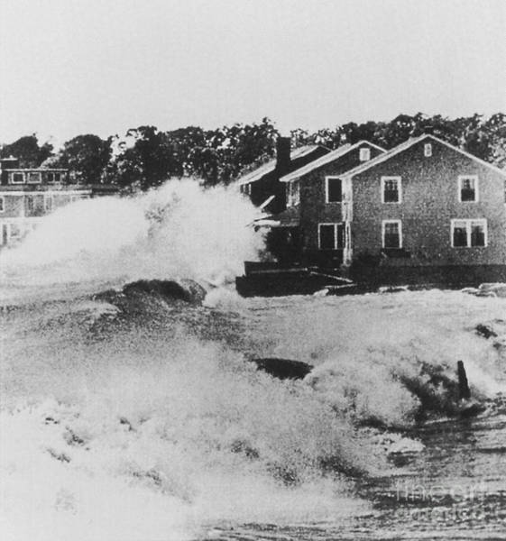 Wall Art - Photograph - Connecticut During Hurricane Carol by Science Source