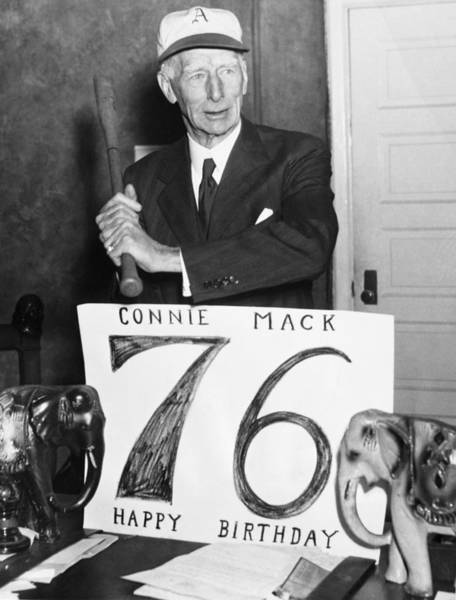 Photograph - Connie Mack (1862-1956) by Granger
