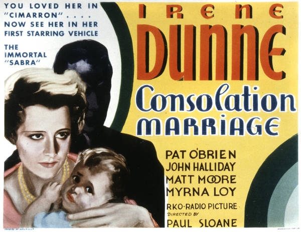 Consolation Wall Art - Photograph - Consolation Marriage, Irene Dunne by Everett