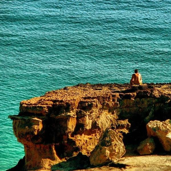 Wall Art - Photograph - Contemplação #ibiza #mar by Gogliardo Maragno
