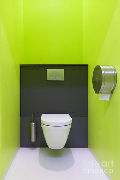 Toilet Paper Photograph - Contemporary Toilet by Jaak Nilson