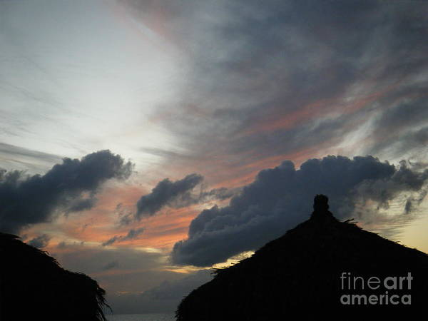 Photograph - Contrasting Skies by Mary Mikawoz