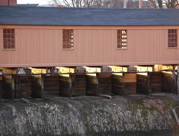 Photograph - Controlling The Canals - Lowell Ma by Mary McAvoy