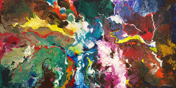 Painting - Convection by Sally Trace