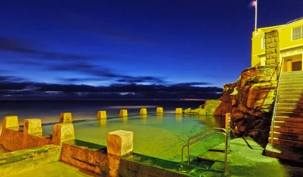 Photograph - Coogee Baths - Sydney by Mark Lucey