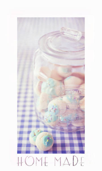 Checker Photograph - Cookie Jar by Priska Wettstein