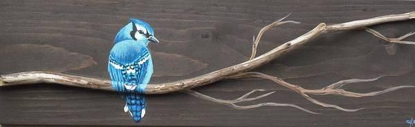Wall Art - Mixed Media - Cool Blue by Jana Caissie