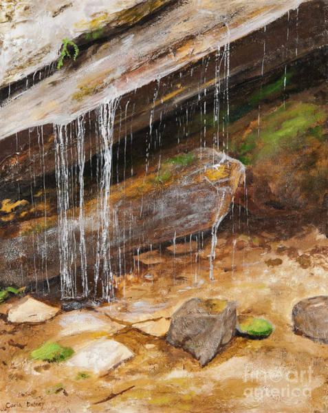 Cool Water Art Print by Carla Dabney