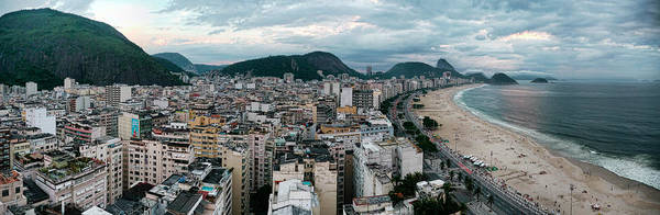 Photograph - Copacabana Sunset by S Paul Sahm