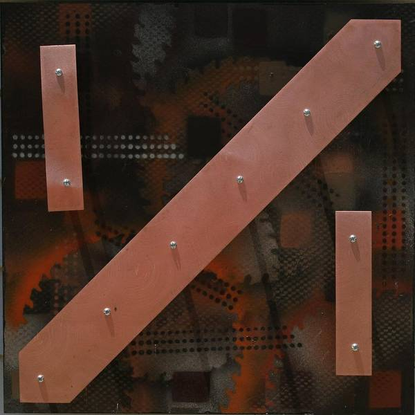 James Johnson Painting - Copper Clock 3 by James Johnson
