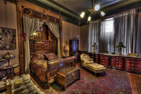 Lead Mine Wall Art - Photograph - Copper King's Master Bedroom - Butte Montana by Daniel Hagerman