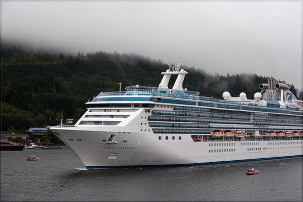 Princess Cruise Lines Photograph - Coral Princess 3 by Gary Rose