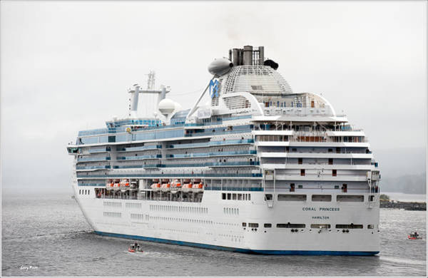 Princess Cruise Lines Photograph - Coral Princess by Gary Rose