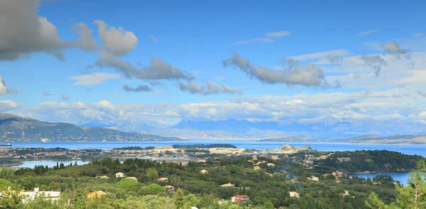 Photograph - Corfu Panorama by Paul Cowan