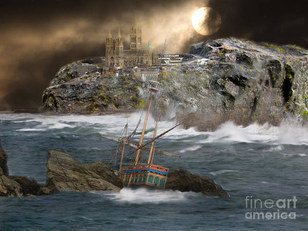 Mathew Photograph - Cornish Wreckers by Brian Roscorla