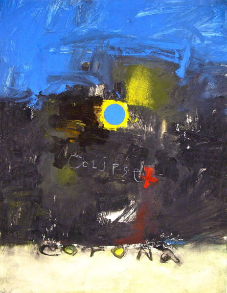 Painting - Corona Once In A Blue Moon by Cliff Spohn