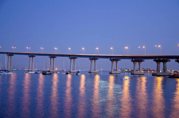 Photograph - Coronado Bay Bridge by Margaret Pitcher