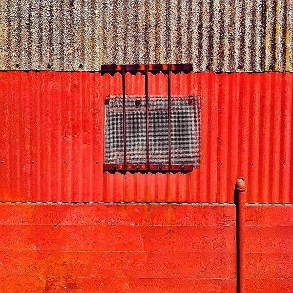 Color Wall Art - Photograph - Corrugated by Julie Gebhardt
