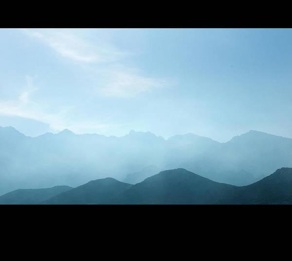 Calvi Photograph - Corsica Mountains by Cheminsnumeriques