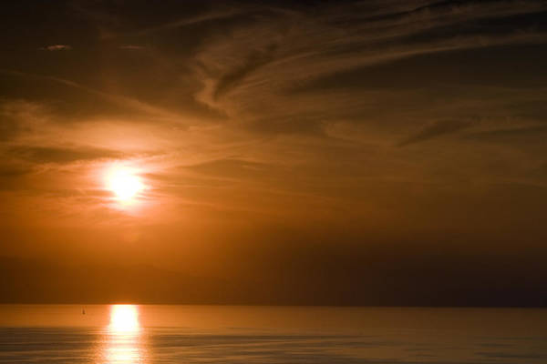 Tramonto Photograph - Corsica Sunset by Marco Vegni