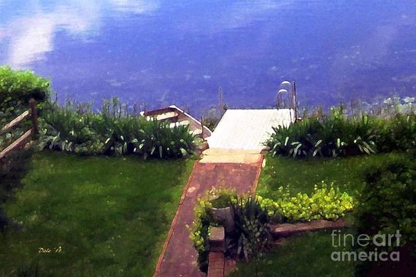 Digital Art - Cortlandt Lake by Dale   Ford