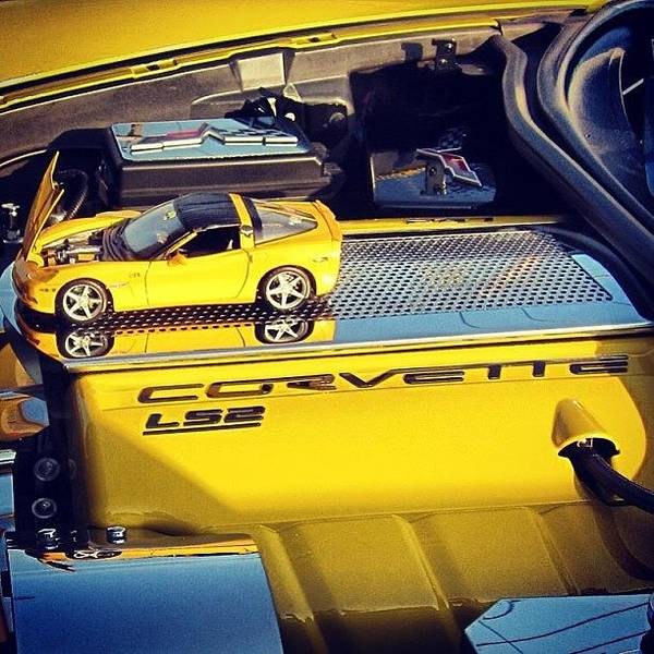 Chevrolet Corvette Photograph - #corvette #chevy #car #chrome #chevelle by Tyler Hittner