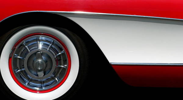 Photograph - Corvette by Jeff Lowe
