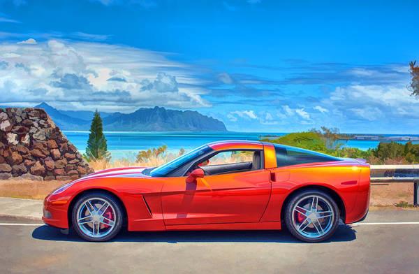 Photograph - Corvette Photo Shoot by Dan McManus