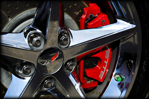 Wall Art - Photograph - Corvette Spokes by Ricky Barnard
