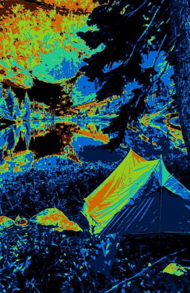 Photograph - Cosmic Campsite by Ben Upham III