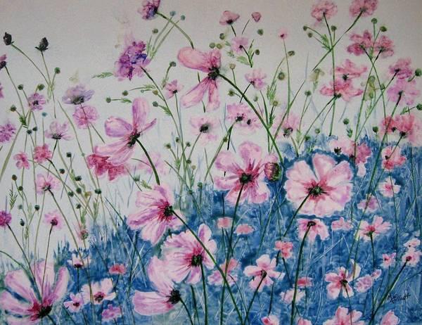 Cosmos Painting - Cosmic Cosmos by Marsha Elliott