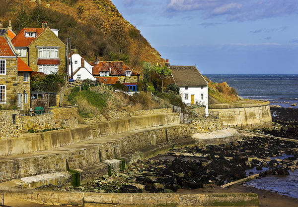 Wall Art - Photograph - Cottages By The Sea by Trevor Kersley