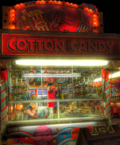 Photograph - Cotton Candy by Joann Vitali