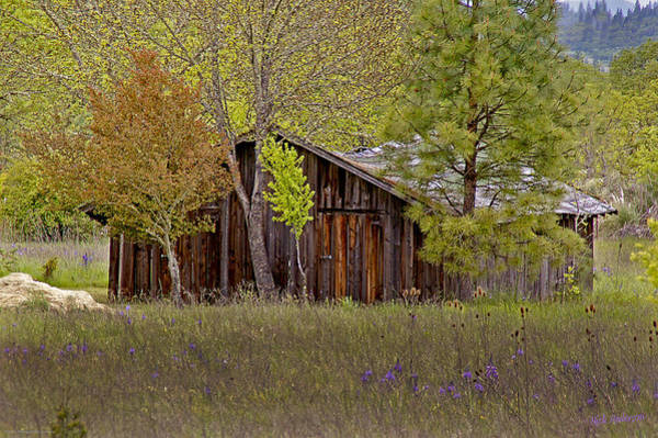Shady Cove Photograph - Country Barn by Mick Anderson