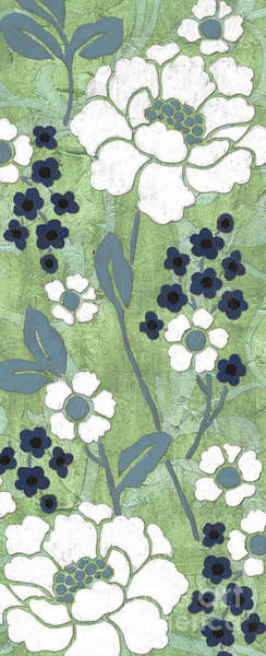 Stem Wall Art - Painting - Country Spa Floral 1 by Debbie DeWitt