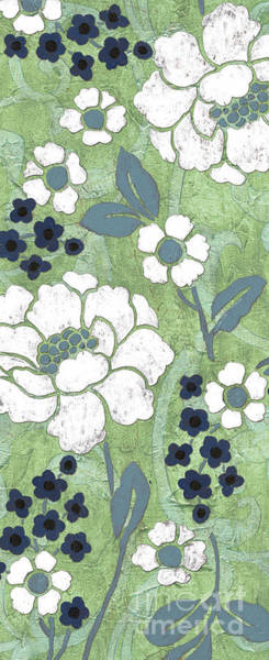 Wall Art - Painting - Country Spa Floral 2 by Debbie DeWitt