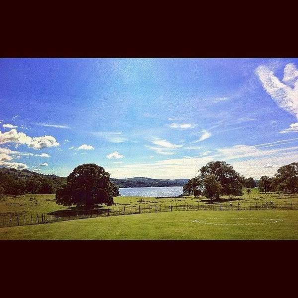 Wall Art - Photograph - #countryside #trees #lake #lakedistrict by Samuel Gunnell