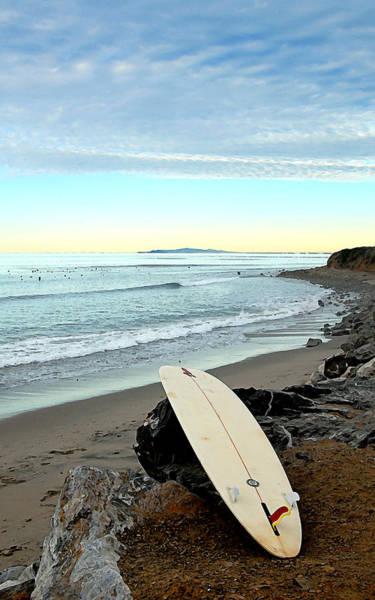 Rock Island Line Photograph - County Line Shoreline by Ron Regalado