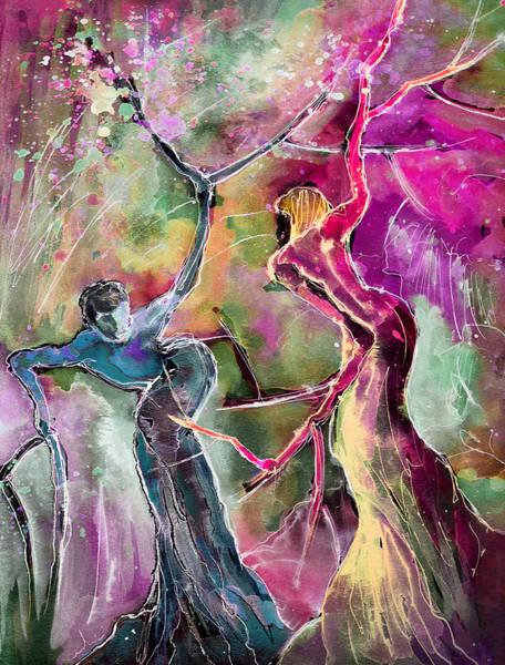 Painting - Coup De Tete by Miki De Goodaboom