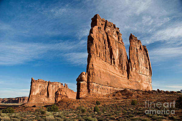 Courthouse Towers Wall Art - Photograph - Courthouse Towers by Jim Chamberlain