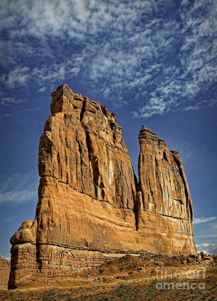 Photograph - Courthouse Towers by Susan Candelario