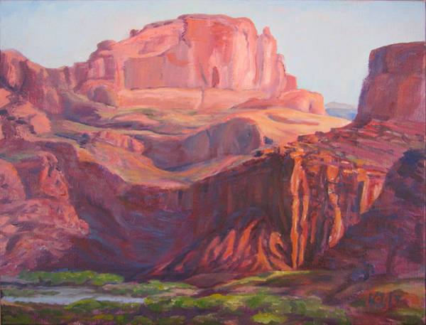 Painting - Courthouse Wash Portal by Page Holland