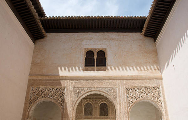 Courtyard Roof Alhambra Art Print