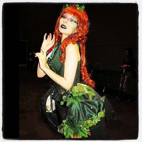 Superhero Wall Art - Photograph - #couture Poison Ivy At #nycc #comiccon by Mariana L