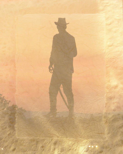 Photograph - Cowboy On The Hill by Trish Tritz